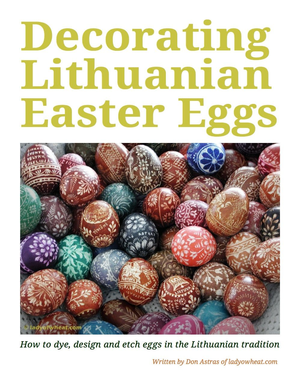 Easter Egg Decorating Workshop With The Balzekas Museum Chicago