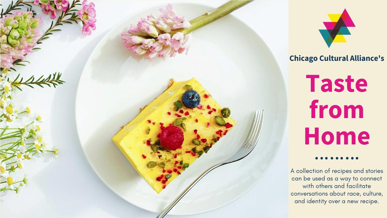 Alaka's Saffron Cheesecake
