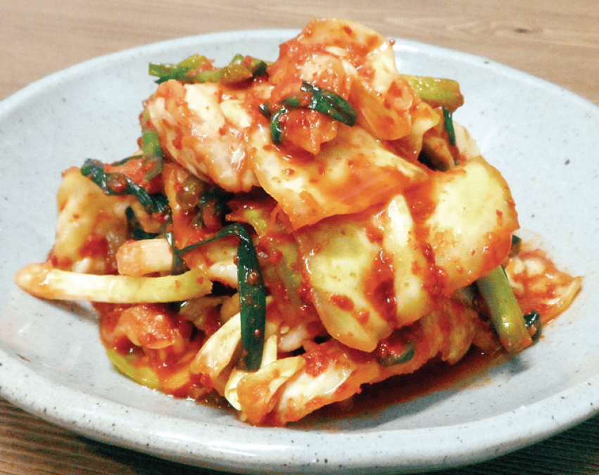 Cabbage Kimchi from the Korean Cultural Center of Chicago