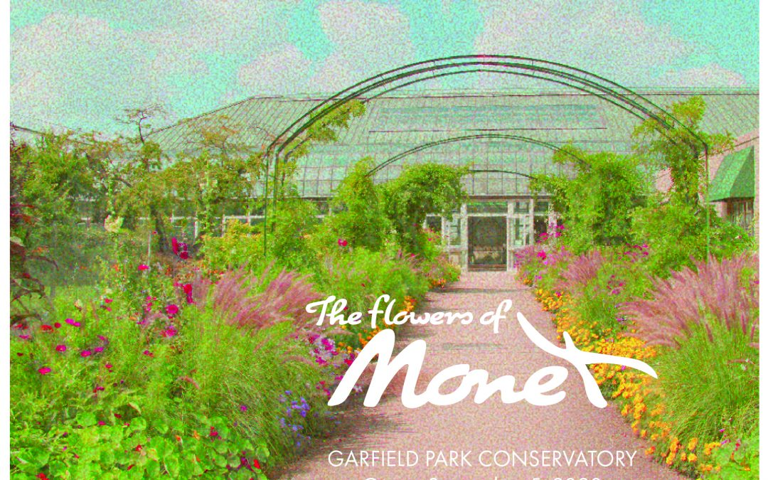 The Flowers of Monet Exhibit
