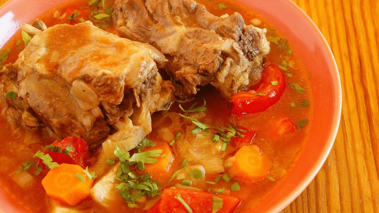 Linda's Oxtail Soup